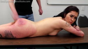 Real Spankings Institute - Anastasia Is Welcomed To The Institute - image 6