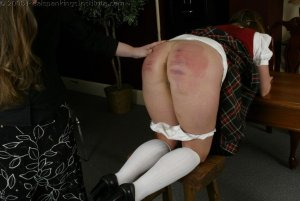 Real Spankings Institute - Madison Spanked For Lying Pt.2 - image 1