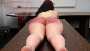 Real Spankings Institute - Anastasia Is Welcomed To The Institute - image 1