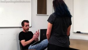 Real Spankings Institute - Anastasia Is Welcomed To The Institute - image 9