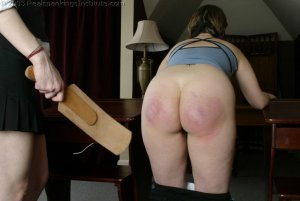 Real Spankings Institute - Chelsea Spanked After Gym - image 8