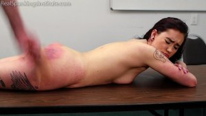 Real Spankings Institute - Anastasia Is Welcomed To The Institute - image 2