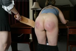 Real Spankings Institute - Chelsea Spanked After Gym - image 15