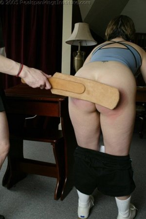 Real Spankings Institute - Chelsea Spanked After Gym - image 18