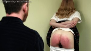Real Spankings Institute - Alice's Severe Punishment With The Dean (part 1 Of 2) - image 13