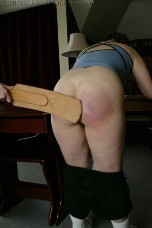 Real Spankings Institute - Chelsea Spanked After Gym - image 9