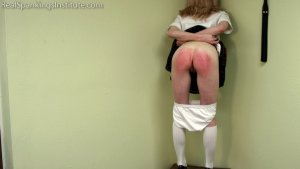 Real Spankings Institute - Alice's Severe Punishment With The Dean (part 1 Of 2) - image 12