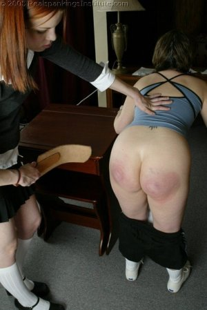 Real Spankings Institute - Chelsea Spanked After Gym - image 14