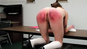 Real Spankings Institute - Riley's Supervised Study Time (part 2) - image 6