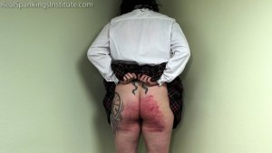 Real Spankings Institute - Jordyn Sent To See The Dean (part 2 Of 2) - image 4