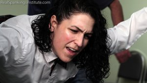 Real Spankings Institute - Jordyn Sent To See The Dean (part 2 Of 2) - image 10
