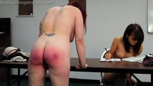Real Spankings Institute - Hand Spanked And Strapped Together (part 4 Of 4) - image 8