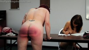 Real Spankings Institute - Hand Spanked And Strapped Together (part 4 Of 4) - image 5