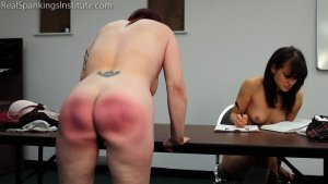 Real Spankings Institute - Hand Spanked And Strapped Together (part 4 Of 4) - image 9