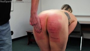 Real Spankings Institute - Strapped And Caned By The Dean (part 2 Of 2) - image 6
