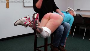 Real Spankings Institute - Devon Spanked For Multiple Infractions (part 1 Of 2) - image 8