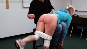 Real Spankings Institute - Devon Spanked For Multiple Infractions (part 1 Of 2) - image 6
