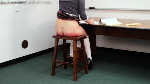 Real Spankings Institute - Paddled Black And Blue - image 1