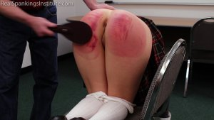 Real Spankings Institute - Paddled For Being A Distraction In Class - image 1