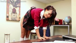 Real Spankings Institute - Kiki: Sent To The Dean (part 1) - image 6