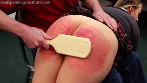 Real Spankings Institute - Paddled Black And Blue - image 6