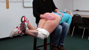 Real Spankings Institute - Devon Spanked For Multiple Infractions (part 1 Of 2) - image 9