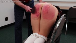 Real Spankings Institute - Paddled For Being A Distraction In Class - image 4