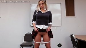 Real Spankings Institute - Paddled For Being A Distraction In Class - image 14