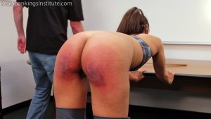 Real Spankings Institute - Pulled From Gym To Be Punished - image 6