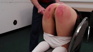Real Spankings Institute - Paddled For Being A Distraction In Class - image 10
