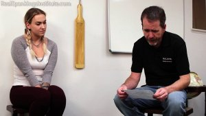 Real Spankings Institute - Cara: Paddled By The Dean - image 1