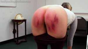 Real Spankings Institute - Cara: Paddled By The Dean - image 4