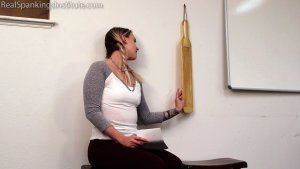 Real Spankings Institute - Cara: Paddled By The Dean - image 14