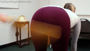 Real Spankings Institute - Cara: Paddled By The Dean - image 3