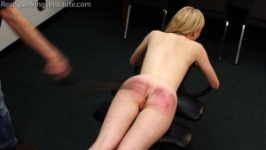 Real Spankings Institute - Alice's Embarrassing Punishment From The Dean - image 10