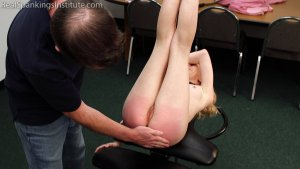 Real Spankings Institute - Alice's Embarrassing Punishment From The Dean - image 11