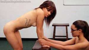 Real Spankings Institute - Two Naughty School Girls Punished Together(part 3 Of 4) - image 11