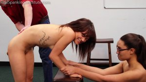 Real Spankings Institute - Two Naughty School Girls Punished Together(part 3 Of 4) - image 12