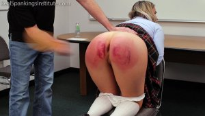 Real Spankings Institute - Sent For A Double Dose By The Dean (part 2 Of 2) - image 5