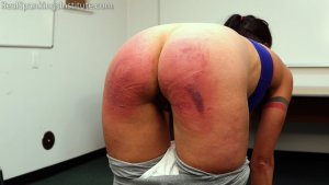 Real Spankings Institute - Delta Is Paddled By The Dean - image 2