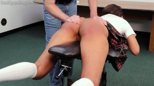 Real Spankings Institute - Ambriel's Punishment From The Dean (part 1 Of 2) - image 6