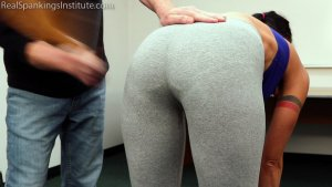 Real Spankings Institute - Delta Is Paddled By The Dean - image 5