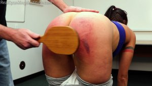 Real Spankings Institute - Delta Is Paddled By The Dean - image 11