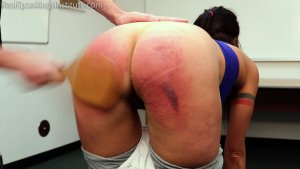 Real Spankings Institute - Delta Is Paddled By The Dean - image 13