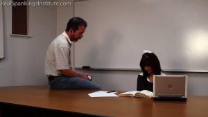 Real Spankings Institute - Punished For Masturbating In Study Hall (part 1) - image 13