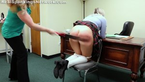 Real Spankings Institute - Cara's Bad Day (part 1 Of 2) - image 2