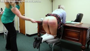 Real Spankings Institute - Cara's Bad Day (part 1 Of 2) - image 4