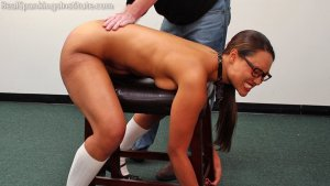 Real Spankings Institute - Ambriel: Spanked By The Dean (part 1 Of 2) - image 9