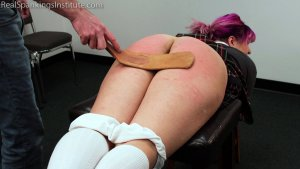 Real Spankings Institute - Stella's Visit With The Dean (part 2 Of 2) - image 9