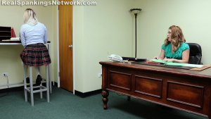 Real Spankings Institute - Cara's Bad Day (part 1 Of 2) - image 8